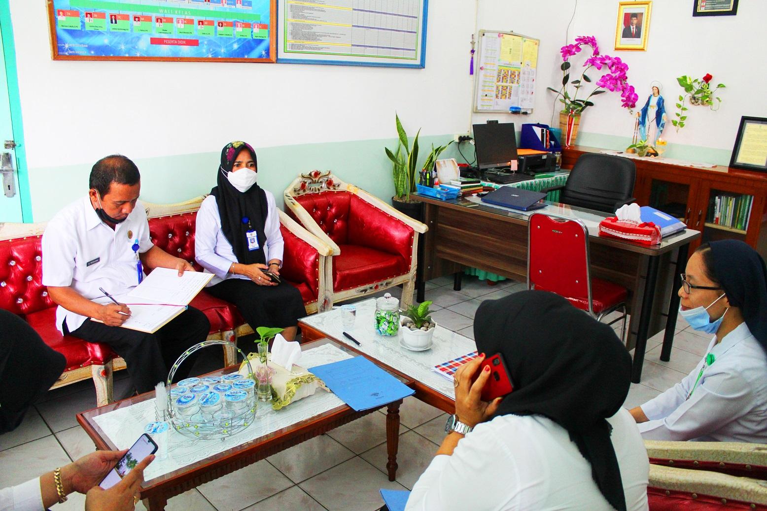 Monev Kadis Pendidikan Kotamobagu