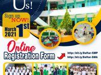 Pendaftaran Online Telah Dibuka!